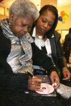 Ernestine Autographing 2
