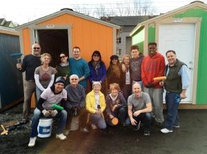 Othello Village set up volunteers