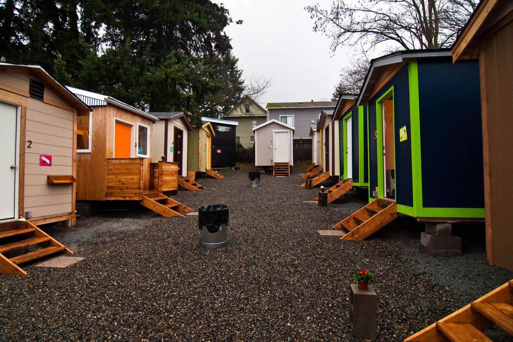 Tiny house village low income housing institute for Tiny house village